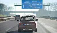 Alfa Romeo Spider 2.0, Italienfahrt, Autobahn