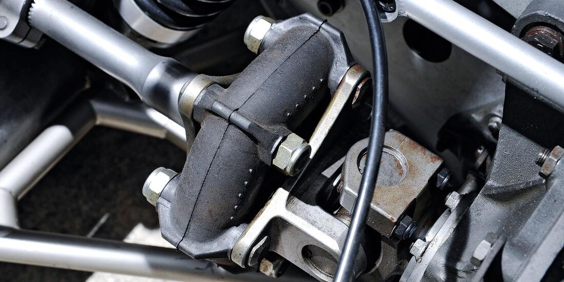 Alfa Romeo T33/3, Dämpfer, Antriebswelle