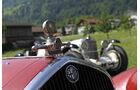 Alfa Romeo und Mercedes bei der Silvretta Classic 2010