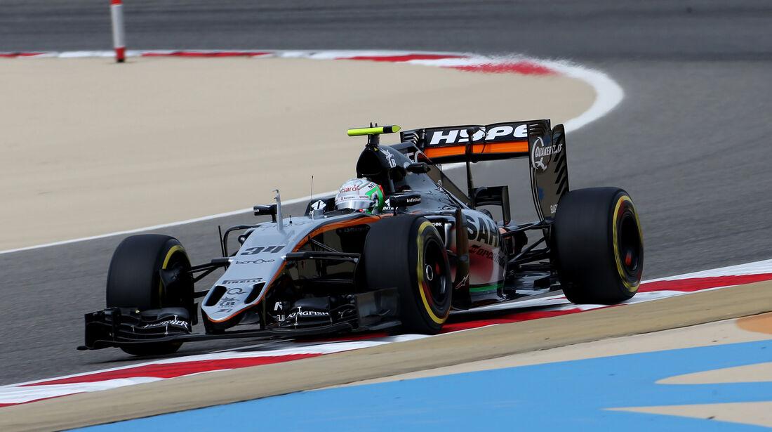 Alfonso Celis - Force India - GP Bahrain - Formel 1 - 1. April 2016