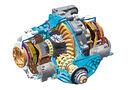 Allradantrieb, BMW X6, Hinterachsdifferenzial