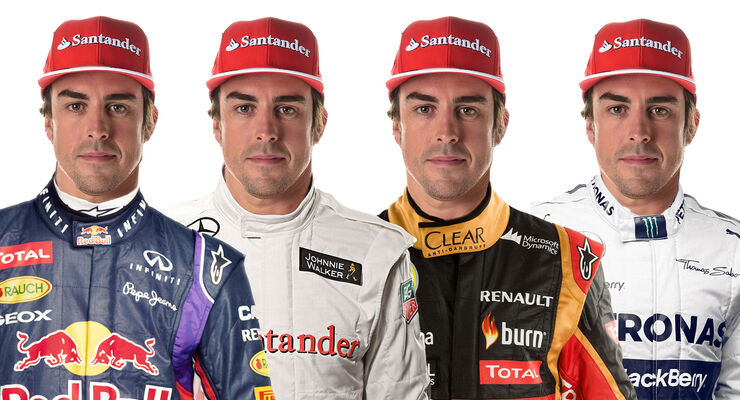 Alonso - Collage - 2014