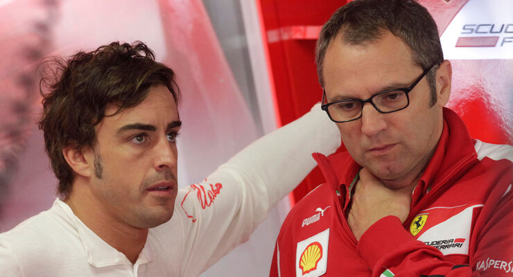 Alonso & Domenicali - Ferrari - Formel 1