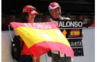 Alonso-Fans - GP Japan - Suzuka - 6. Oktober 2011