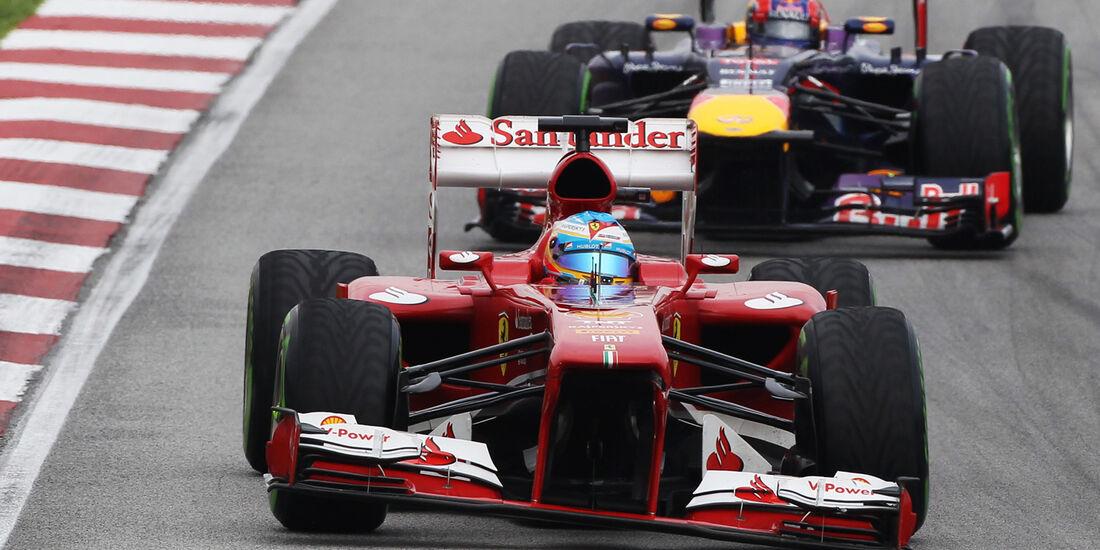 Alonso - Formel 1 - GP Malaysia 2013