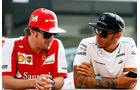 Alonso & Hamilton - GP Abu Dhabi 2013
