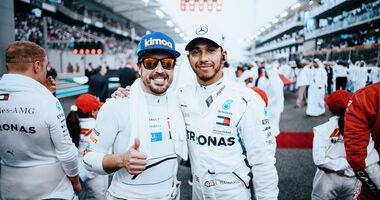Alonso & Hamilton - GP Abu Dhabi 2018