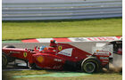 Alonso-Kollision GP Japan 2012