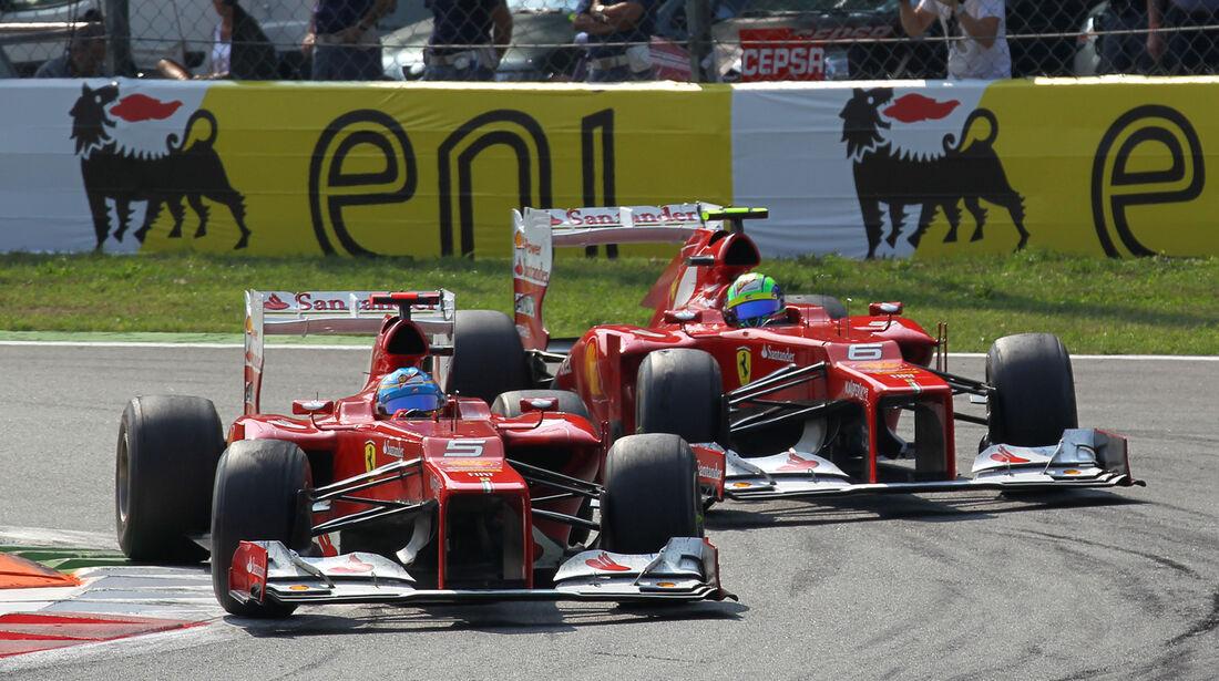 Alonso & Massa GP Italien 2012