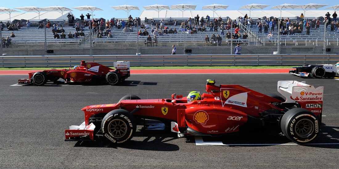 Alonso & Massa GP USA 2012