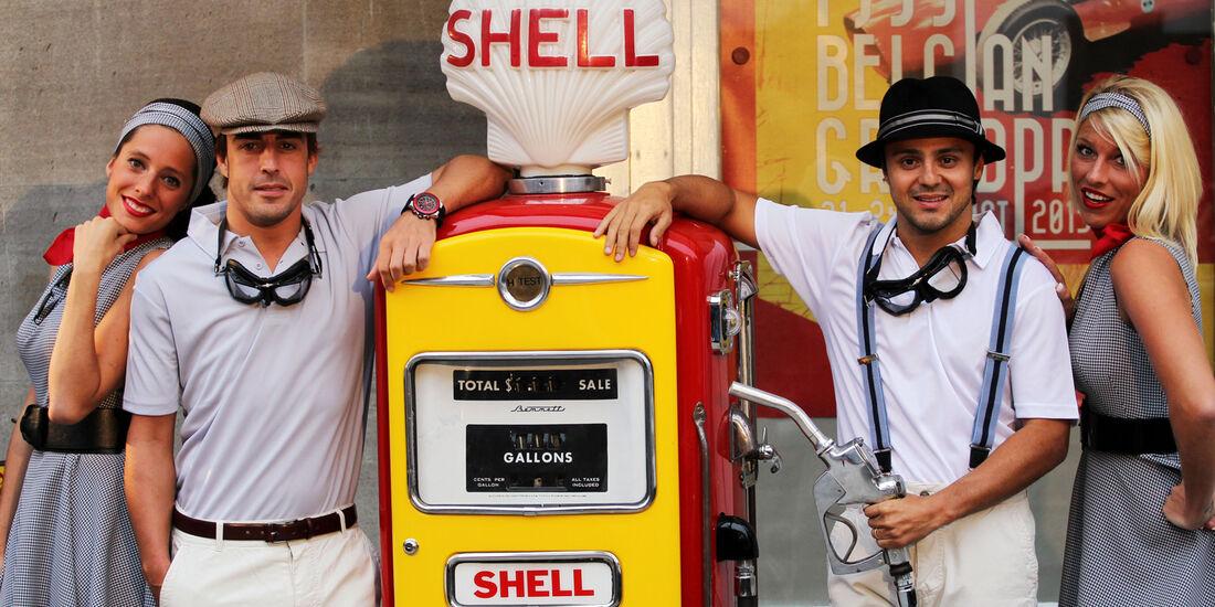 Alonso Massa - Shell GP Belgien 2013