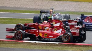 Alonso & Räikkönen - GP England 2014