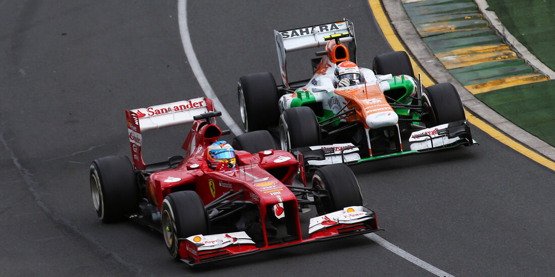 Alonso & Sutil - GP Australien 2013