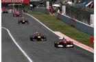 Alonso Vettel GP Spanien 2011