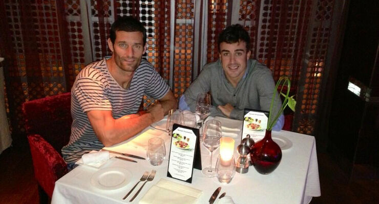 Alonso & Webber - Dinner 2013