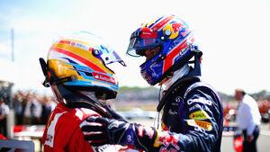 Alonso & Webber - GP England 2013
