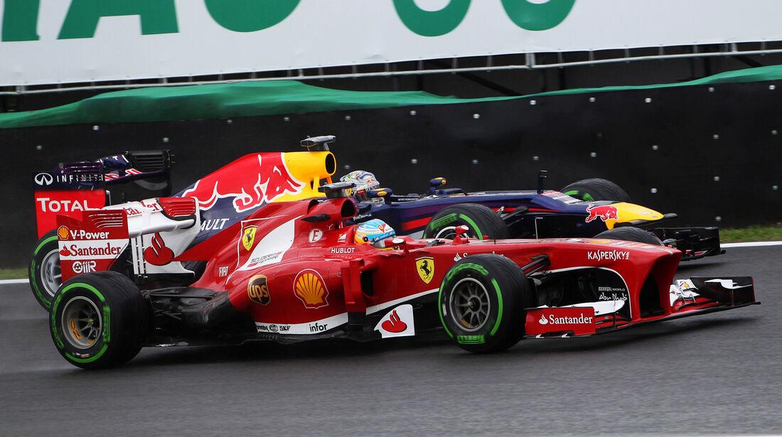 Alonso vs. Vettel - Formel 1 - GP Brasilien - 22. November 2013