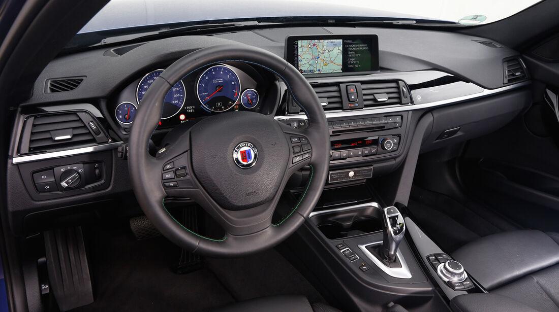 Alpina B3 Biturbo, Cockpit