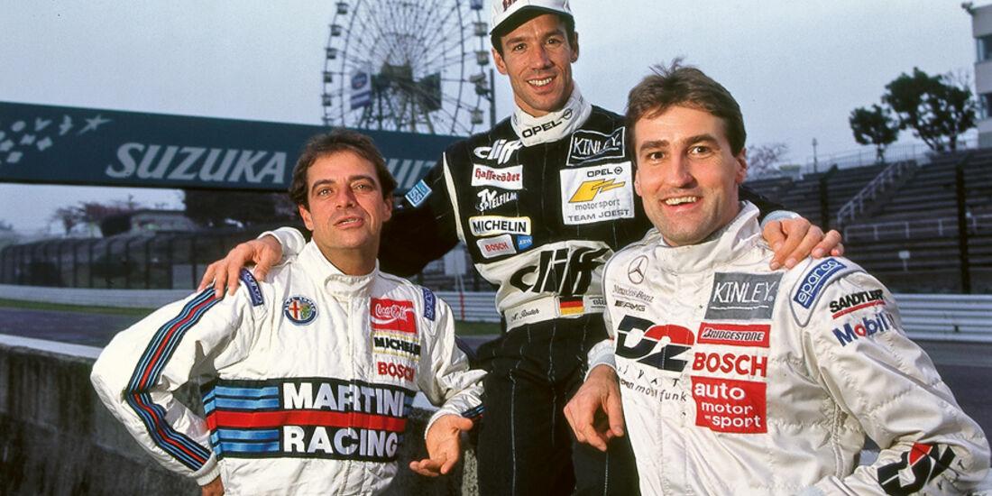 Alssandro Nannini, Manuel Reuter, Bernd Schneider