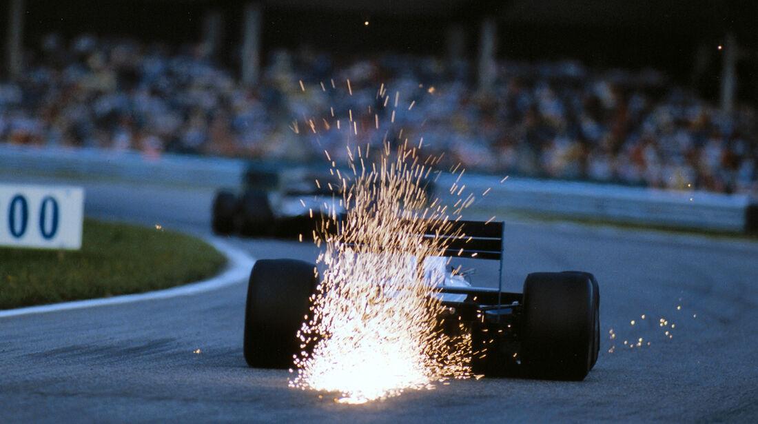 Andrea de Cesaris - GP Österreich 1987 - Brabham