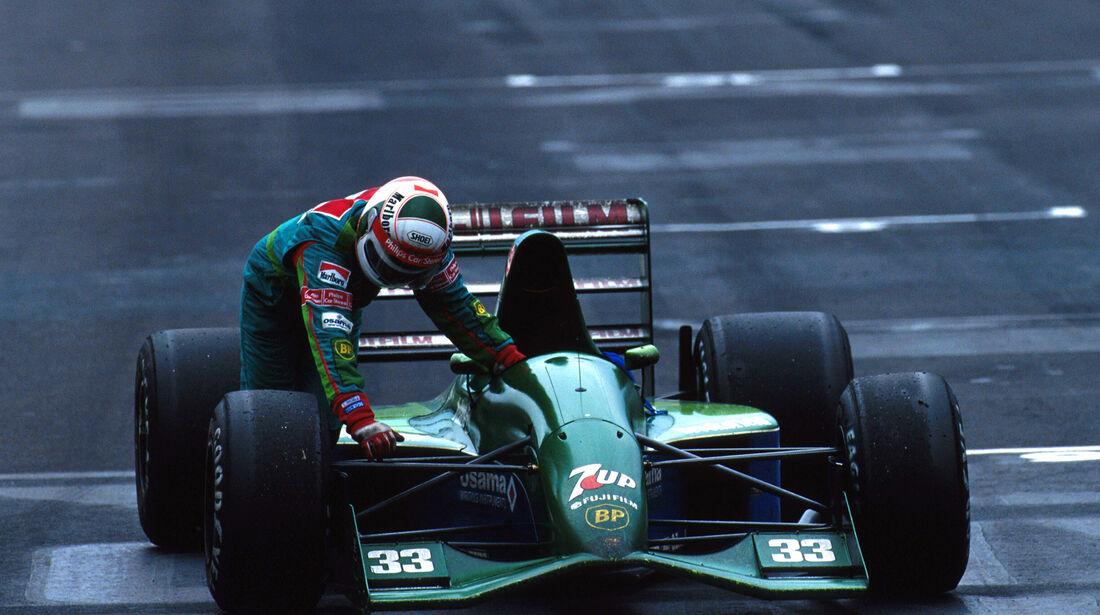 Andrea de Cesaris - Jordan 191 - GP Mexiko 1991