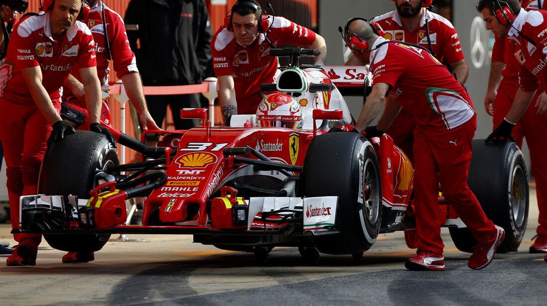 Antonio Fuoco - Ferrari - Barcelona Test 2 - 18. Mai 2016