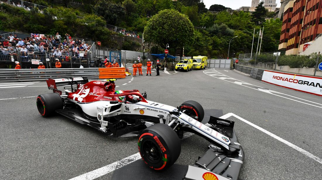 Antonio Giovinazzi - Alfa Romeo - Formel 1 - GP Monaco - 23. Mai 2019
