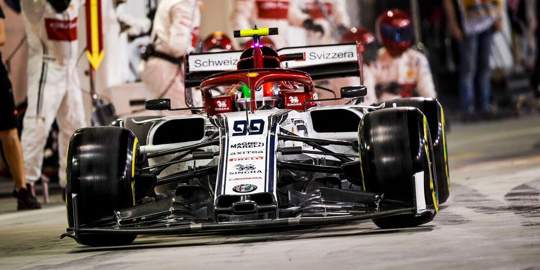 Antonio Giovinazzi - Alfa Romeo - GP Bahrein 2019