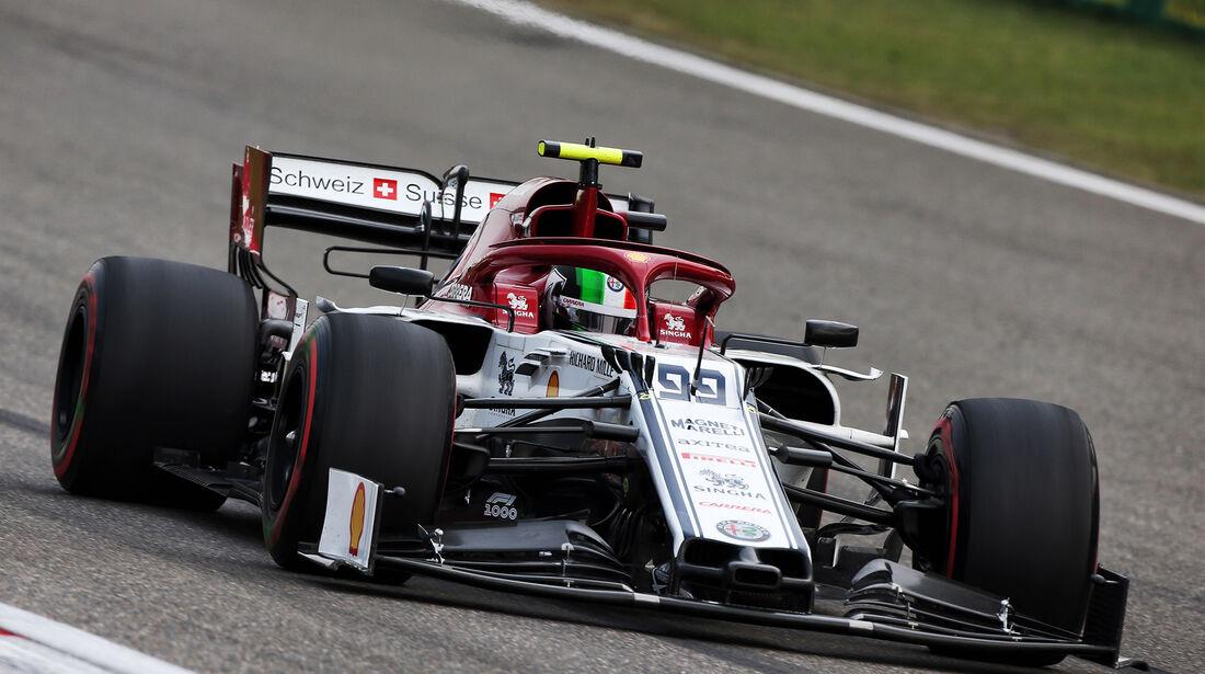 Antonio Giovinazzi - Alfa-Sauber - GP China - Shanghai - Formel 1 - Freitag - 12.4.2019