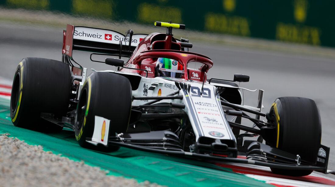 Antonio Giovinazzi - Formel 1 - GP Spanien 2019