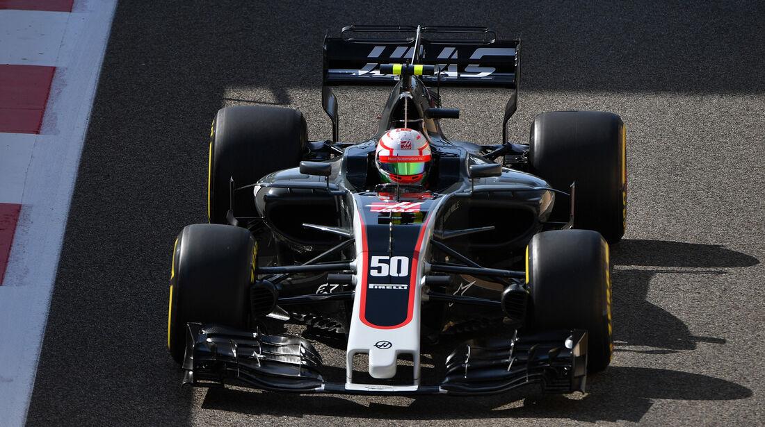 Antonio Giovinazzi - HaasF1 - Formel 1 - GP Abu Dhabi - 24. November 2017