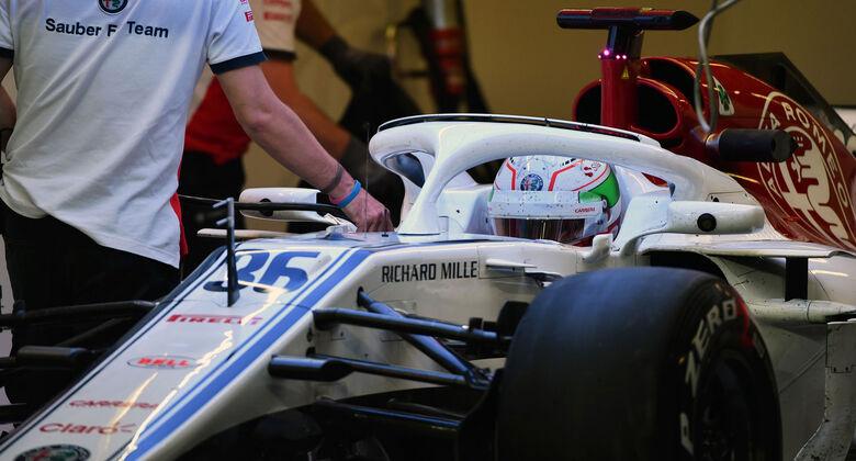 Antonio Giovinazzi - Sauber - Abu Dhabi - Testfahrten