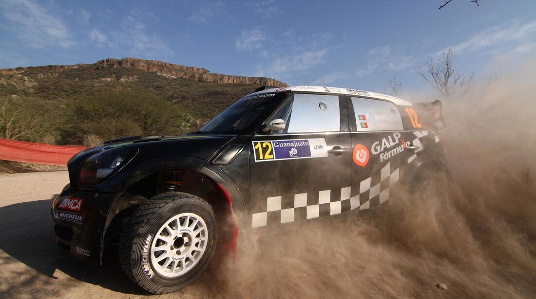 Armindo Araujo WRC Rallye Mexiko 2012