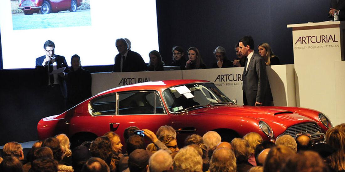 Artcurial Versteigerung 1968 Aston Martin DB6 Coupé