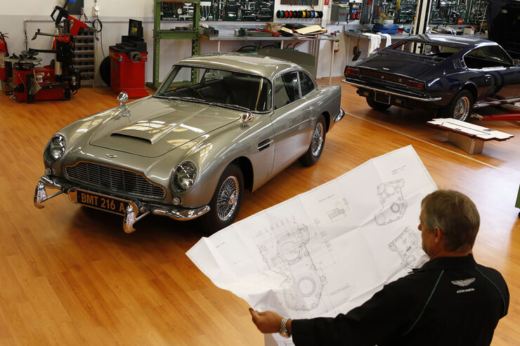 Bond Car Aston Martin Db5 Komplett Restauriert Q 39 S