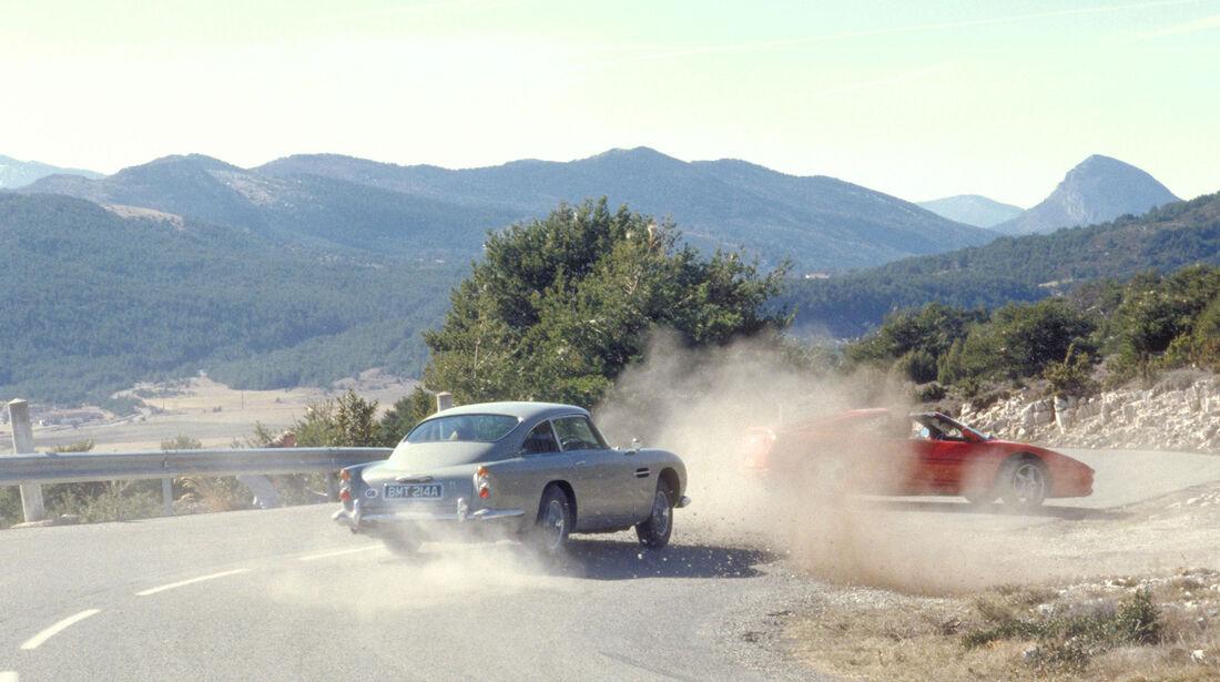 "Aston Martin DB5 ""Goldfinger"" James Bond"