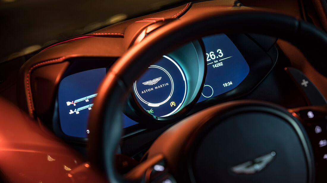 Aston Martin DBS Superleggera, Interieur