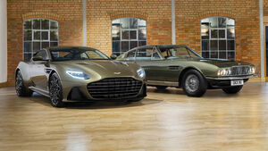 Aston Martin On Her Majesty's Secret Service DBS Superleggera