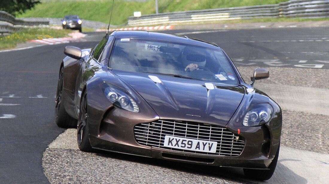 Aston Martin One-77 Nürburgring