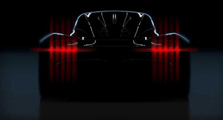 Aston Martin Project 003 Teaser