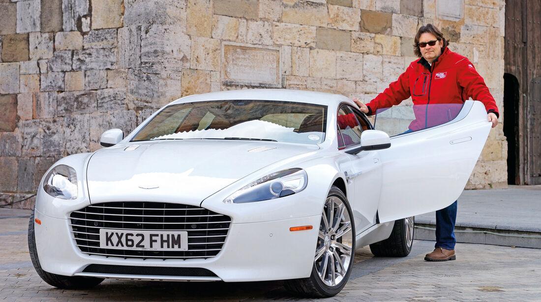 Aston Martin Rapide S, Frontansicht, Heinrich Lingner