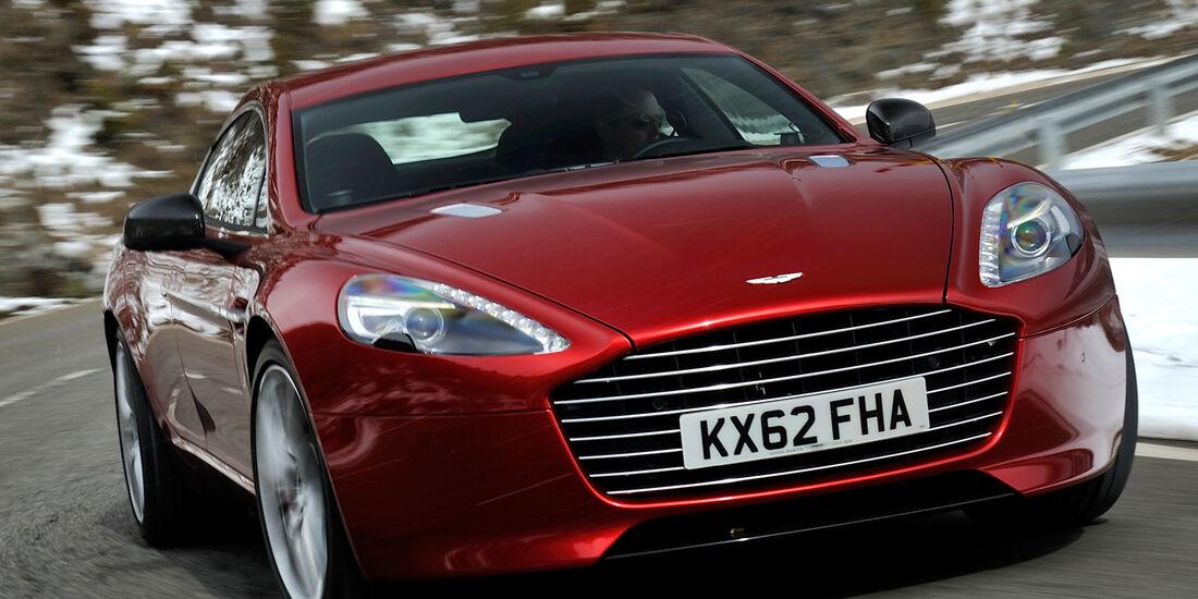 Aston Martin Rapide S, Frontansicht
