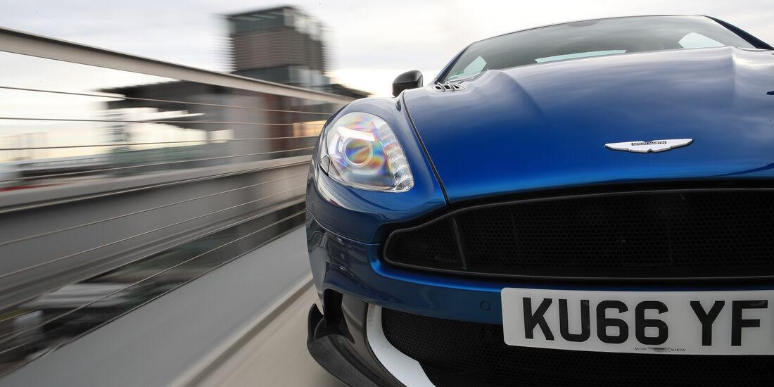 Aston Martin V12 Vanquish S, Kühlergrill