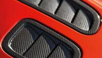 Aston Martin V12 Vantage S, Lufthutze