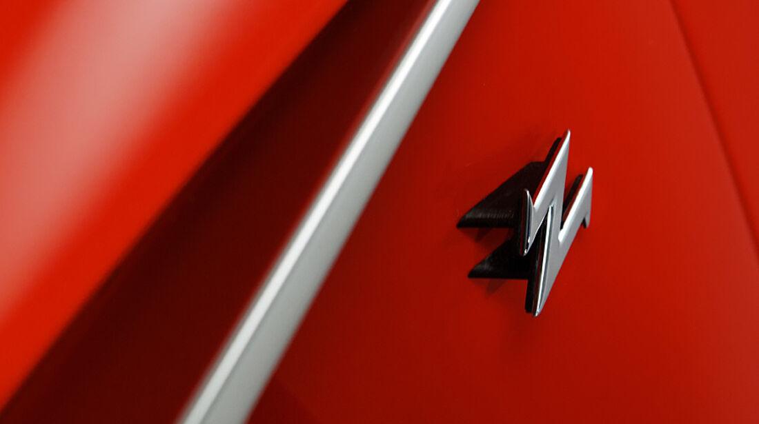 Aston Martin V12 Zagato Concept, Logo