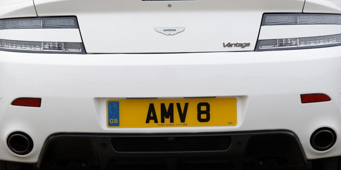 Aston Martin V8 Vantage N420, Heck