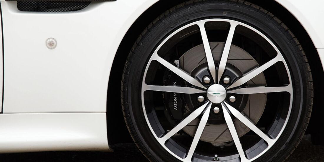 Aston Martin V8 Vantage N420, Rad