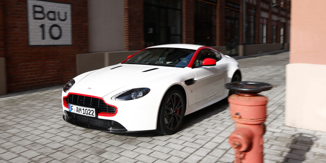 Aston Martin V8 Vantage N430, Frontansicht