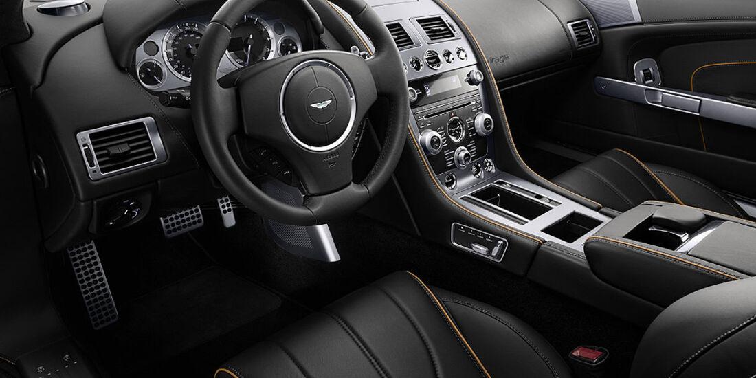 Aston Martin Virage, Innenraum, Cockpit