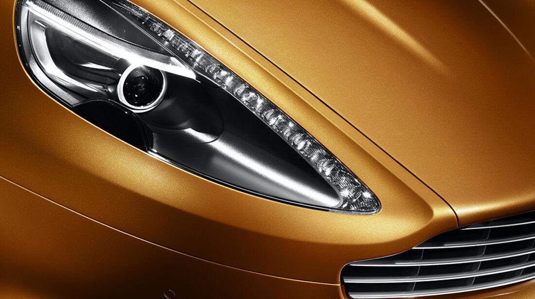 Aston Martin Virage, Scheinwerfer